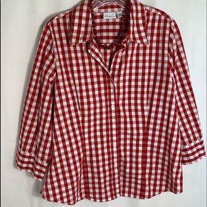 Kim Rogers spring blouse